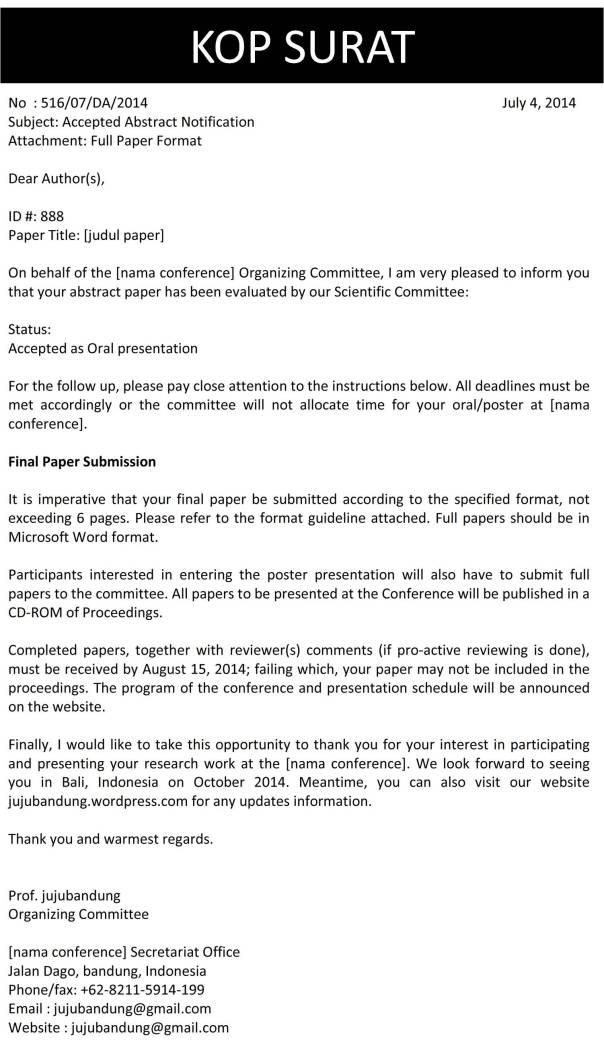 membalas surat konfirmasi Surat niaga terdiri dari berbagai macam jenis, antara lain: 1  biasanya dibuat  atas inisiatif perusahaan atau untuk membalas surat permintaan penawaran   surat konfirmasi pesanan adalah surat yang dibaut oleh penjual yang ditujukan.