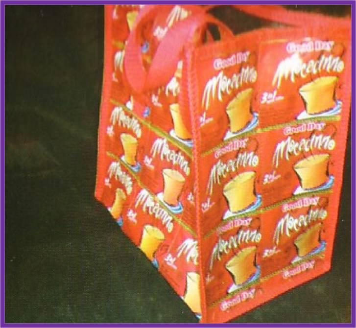 Tas Belanja dari Sampah Plastik