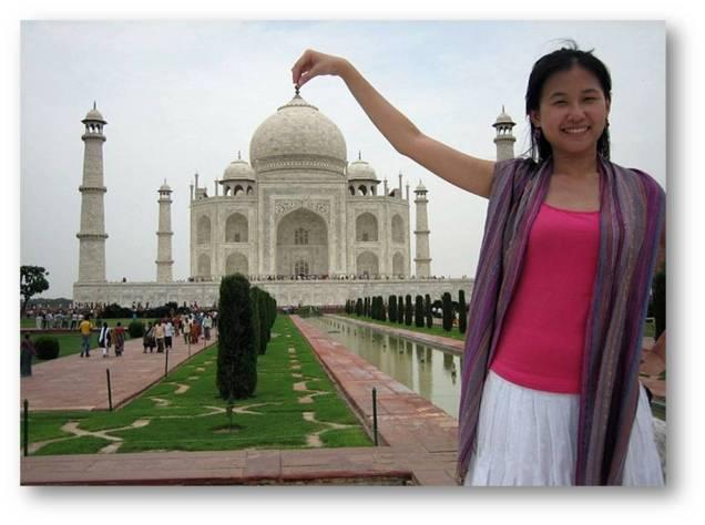 Cerita Taman di Taj Mahal