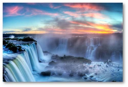Air Terjun Iguaza, keajaiban dunia yang menakjubkan