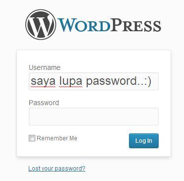 Cara merubah password WordPress melalui phpMyAdmin