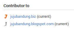 Informasi Author di Search Results